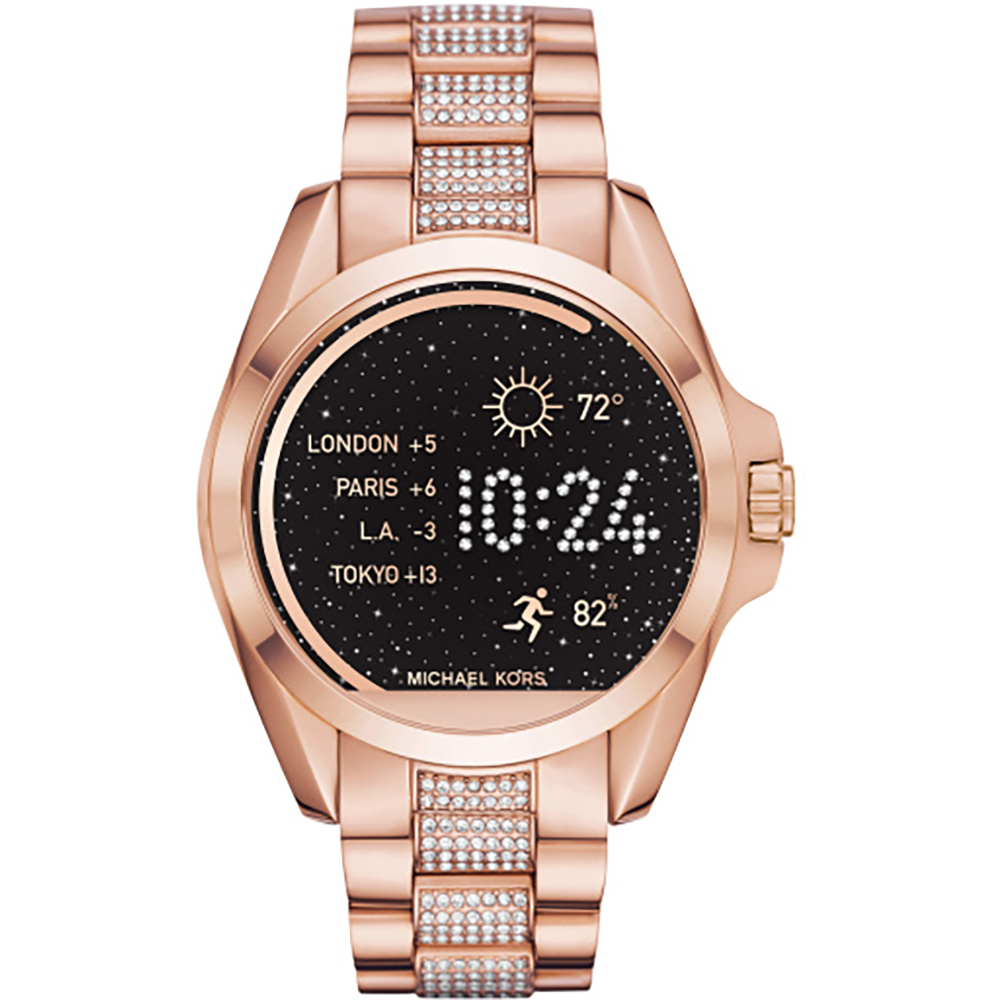 ddec9adbe650 Michael Kors Michael Kors Access 44mm Touchscreen Rose Gold Acetate  Bradshaw Smartwatch MKT5018 MKT5018