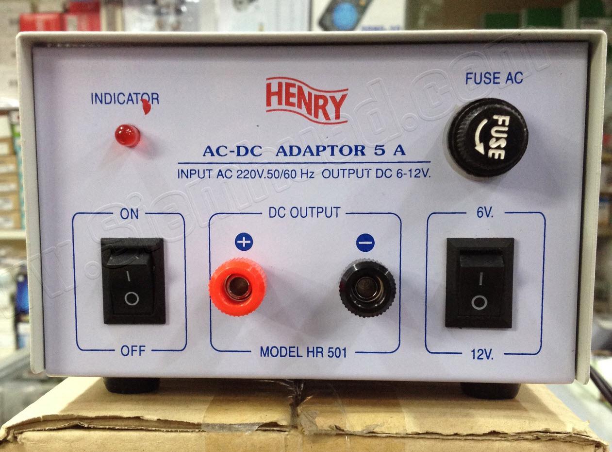Ac Dc Adaptor 5a Input 220v 50 60 Hz Output 6 12v Hr501 Abb Earthleakage Circuit Breaker F364 Nib 3 Hr502 Henry Hr 501 502