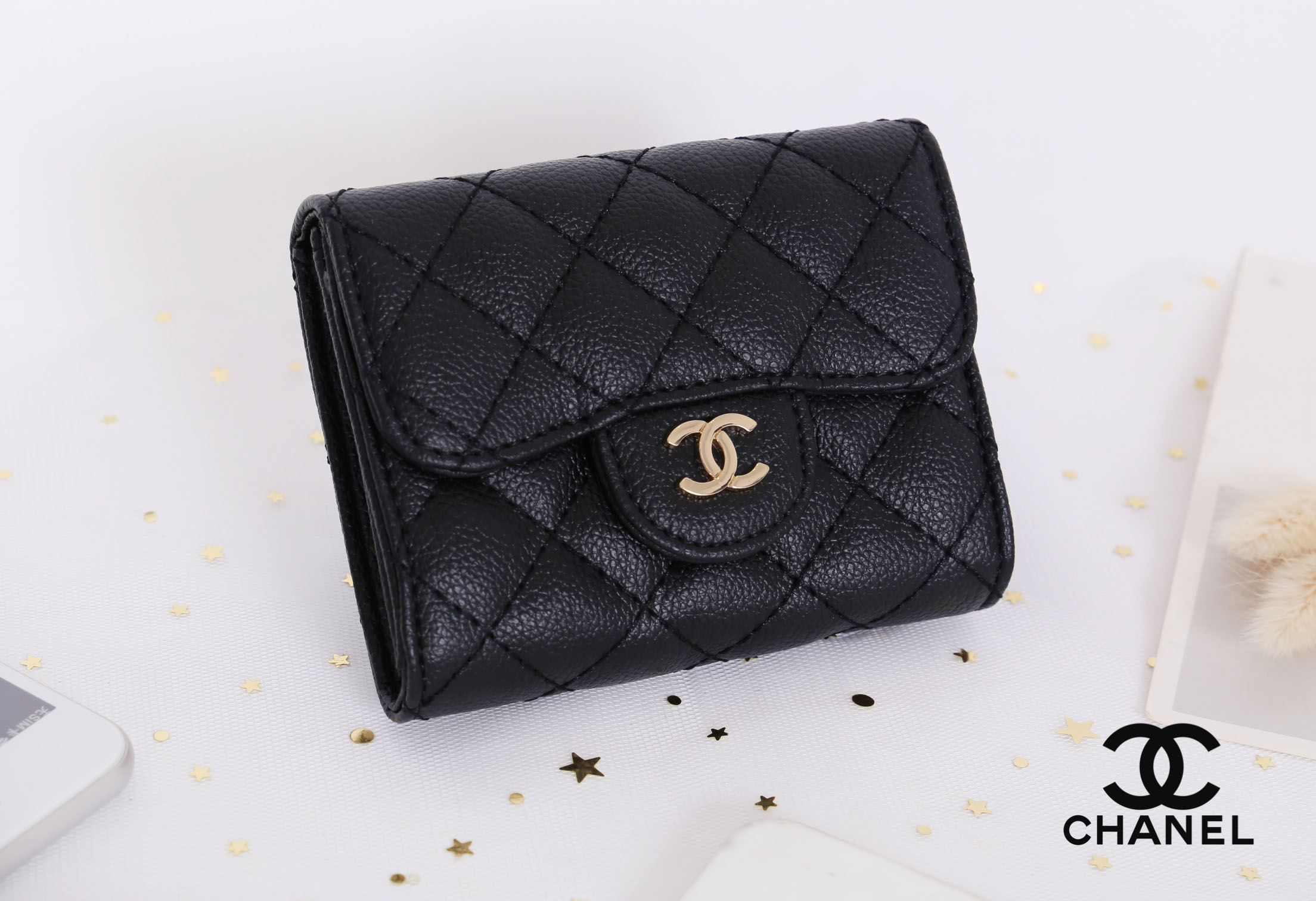 Chanel Holder Card Classic Flap